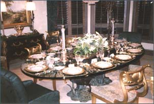 Entertain your guests in your own dining room